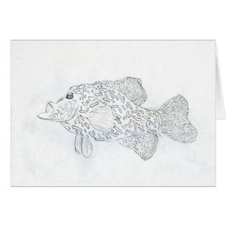 Winning art by  D. Robins - Grade 4 Greeting Card