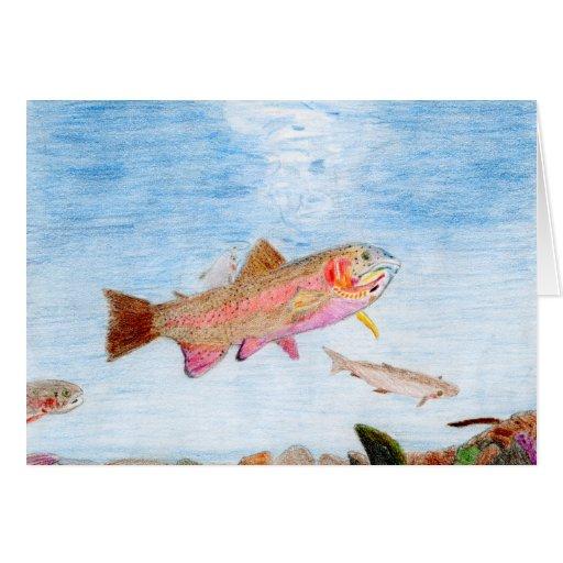 Winning art by  E. Munoz - Grade 12 Greeting Cards