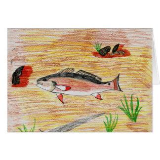 Winning Art By H. Miller Grade 6 Greeting Card