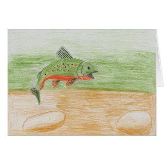 Winning Art By H. Pan Grade 10 Greeting Card