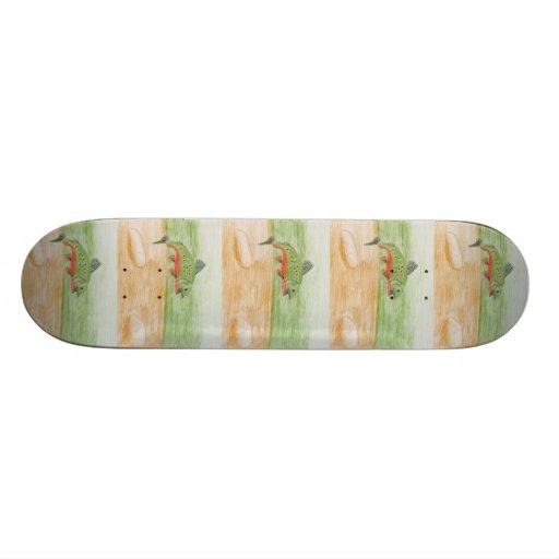 Winning Art By H. Pan Grade 10 Skateboard Deck