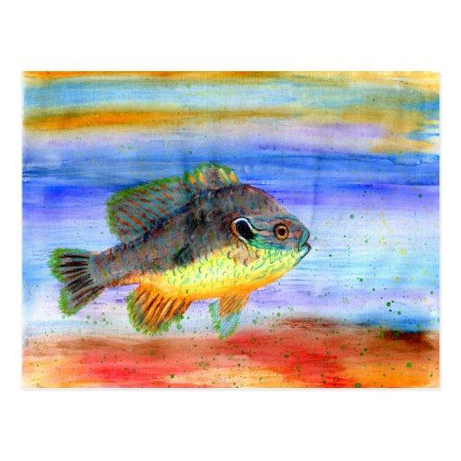 Winning art by  H. Woleslagel - Grade 5 Postcards