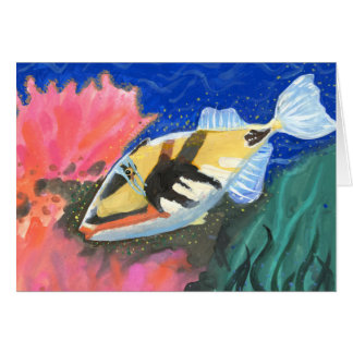 Winning art by  I. Liu - Grade 7 Greeting Card