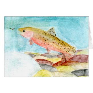 Winning art by  J. Bernhardt - Grade 8 Greeting Card