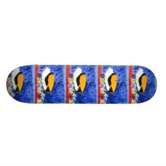 Winning art by  J. Geouge - Grade 5 Skateboards