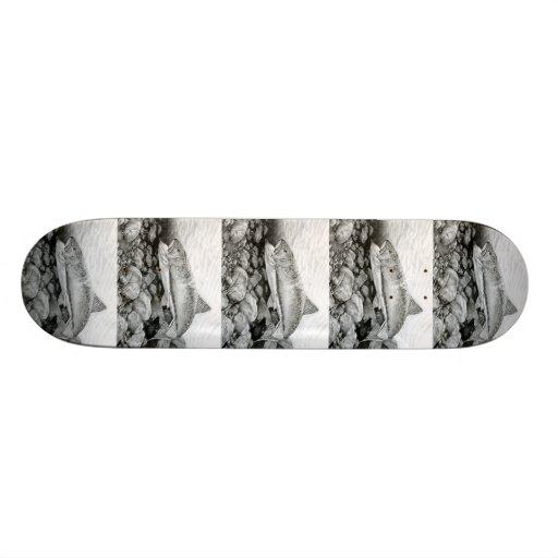 Winning art by  J. Hong - Grade 12 Skateboard Decks