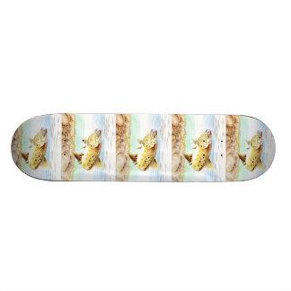 Winning art by J Mao - Grade 4 Skateboard