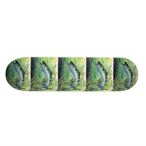 Winning art by  J. Park - Grade 11 Skateboard Deck