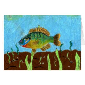 Winning art by  K. Benoit - Grade 4 Greeting Card
