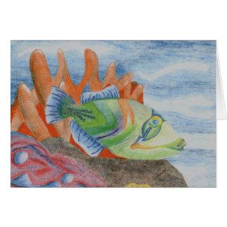 Winning Art By K. Close Grade 10 Greeting Card