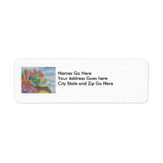 Winning Art By K. Close Grade 10 Return Address Label