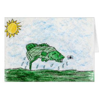 Winning art by  K. Flack - Grade 4 Greeting Card