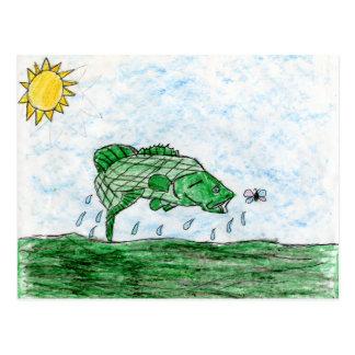 Winning art by  K. Flack - Grade 4 Postcard