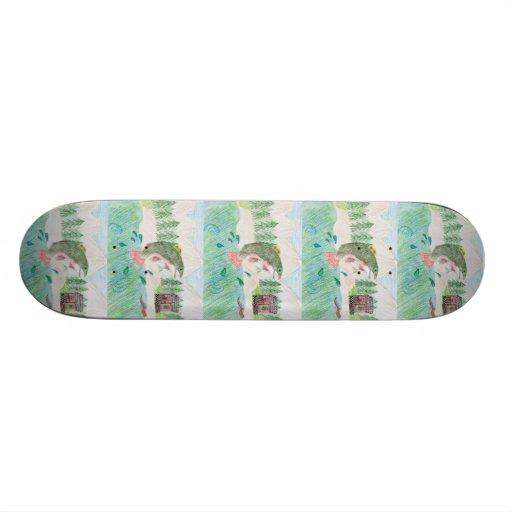 Winning Art By K. Kaichen Grade 5 Skateboard Decks