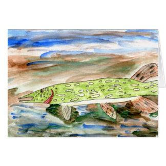 Winning art by  K. Nelsen - Grade 4 Greeting Card