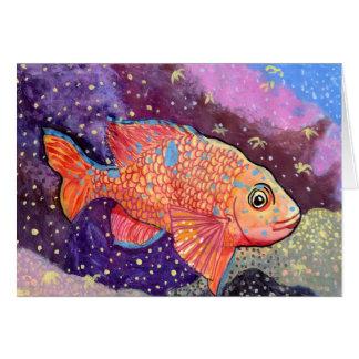 Winning Art By K. Ye Grade 4 Greeting Card