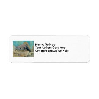 Winning Art By L. Peterson Grade 8 Return Address Label