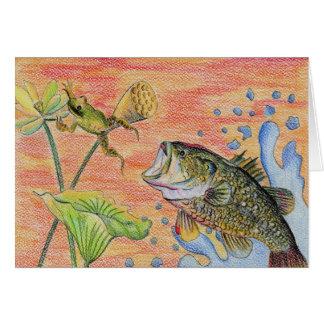 Winning Art By L. Pitthong Grade 11 Greeting Card