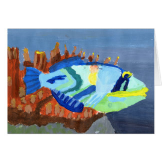 Winning art by  L. Porter - Grade 5 Greeting Card