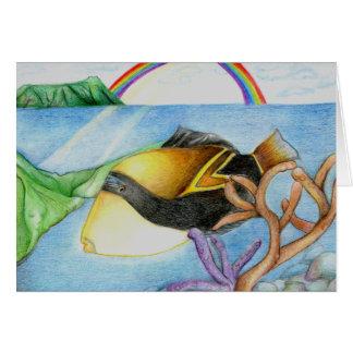 Winning Art By M. Leung Grade 11 Greeting Card