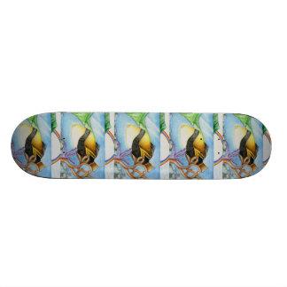 Winning Art By M. Leung Grade 11 Skate Board Decks