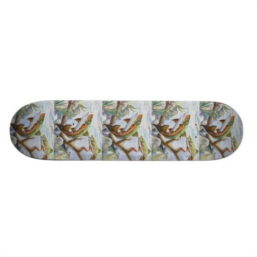 Winning Art By M. Yuan Grade 10 Skate Board Deck