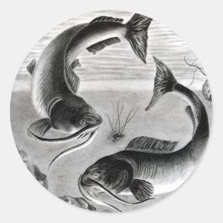Winning art by  N. Bui - Grade 10 Round Sticker
