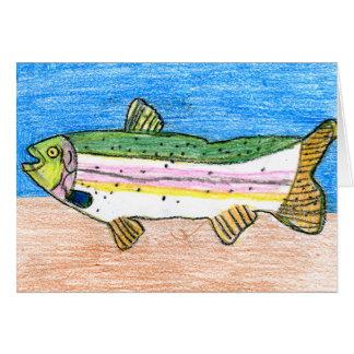 Winning art by  N. Rule - Grade 5 Greeting Card