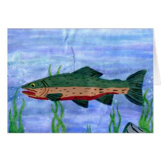 Winning art by  N. Teel - Grade 9 Greeting Card