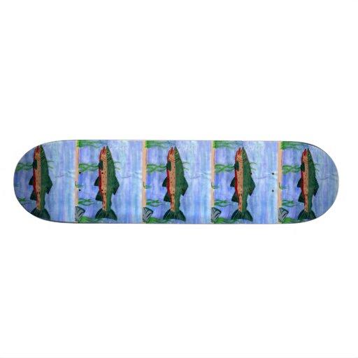 Winning art by  N. Teel - Grade 9 Custom Skate Board