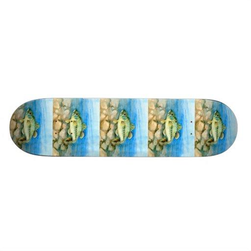 Winning art by  P. Wright - Grade 5 Skate Decks