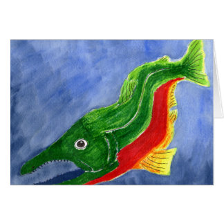 Winning art by  R. Bekeris - Grade 11 Greeting Card