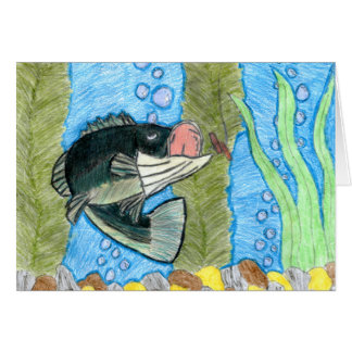 Winning art by  R. Shively - Grade 6 Greeting Card