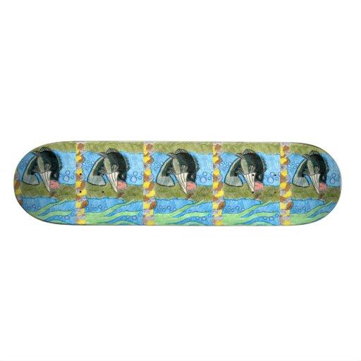 Winning art by  R. Shively - Grade 6 Skateboard