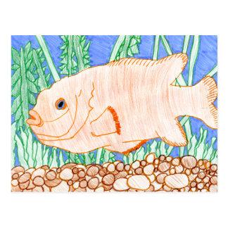 Winning art by  R. Struve - Grade 4 Postcard