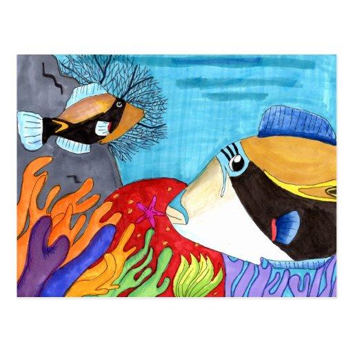Winning art by  S. Bess - Grade 6 Postcard