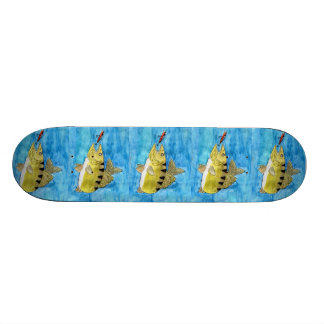 Winning Art By S. Clayton Grade 6 Skate Deck