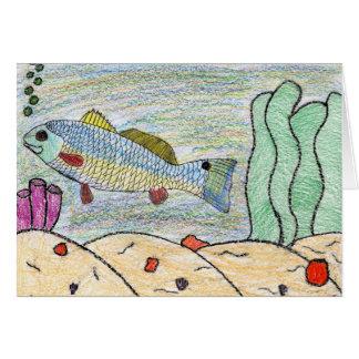 Winning Art By T. Bitterman Grade 5 Greeting Card