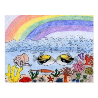 Winning art by  T. Dinh - Grade 11 Postcard