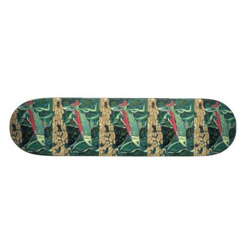 Winning art by  V. Lin - Grade 4 Custom Skate Board