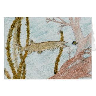 Winning Art By W. Stout Grade 9 Greeting Card