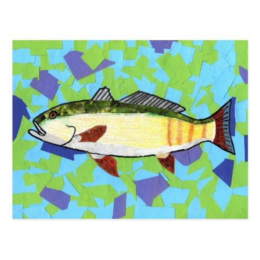 Winning artwork by A. Bryan , Grade 5 Post Card