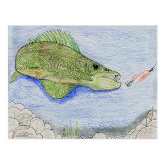 Winning artwork by A. Stieha, Grade 8 Postcard