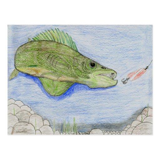 Winning artwork by A. Stieha, Grade 8 Post Cards