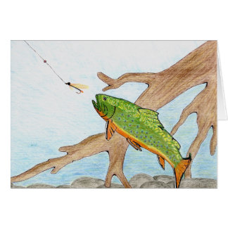 Winning artwork by A. Swirzewski, Grade 9 Greeting Card