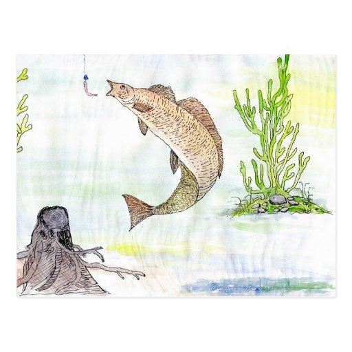 Winning artwork by A. Tahira, Grade 10 Post Cards