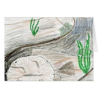 Winning artwork by B. Bailey, Grade 6 Greeting Card