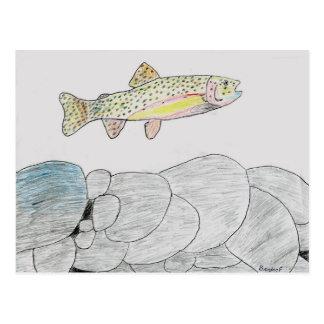Winning artwork by B Frye Grade 6 Post Cards