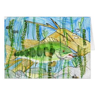 Winning artwork by C. Durler, Grade 6 Greeting Card