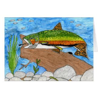 Winning artwork by C. Freshour, Grade 6 Greeting Card